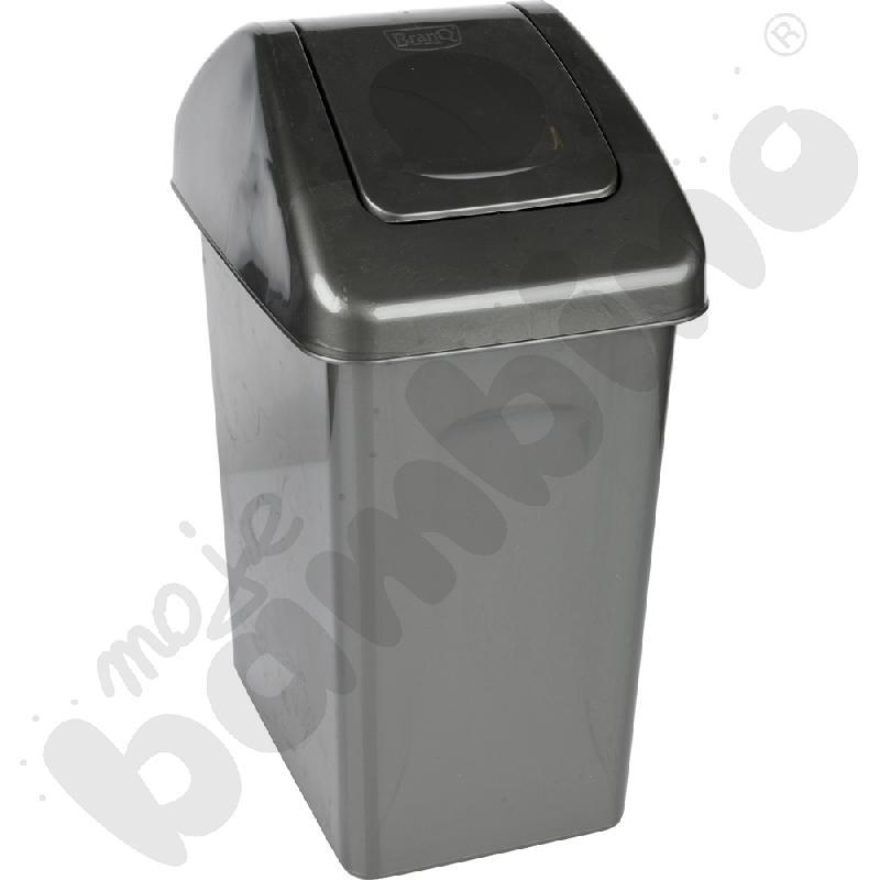 Kosz na śmieci 10 l - czarny