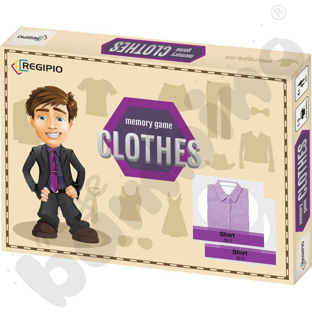Memory game - Clothes