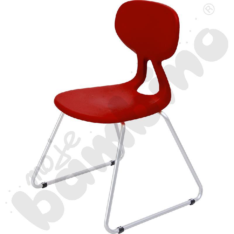 Krzesło Colores Plus rozm. 5 bordowe