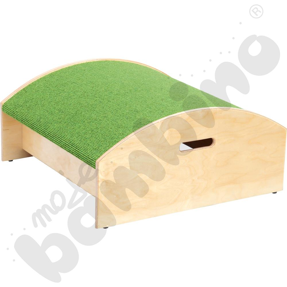Podest kwadrat wypukły - wys. 20 cm zielony
