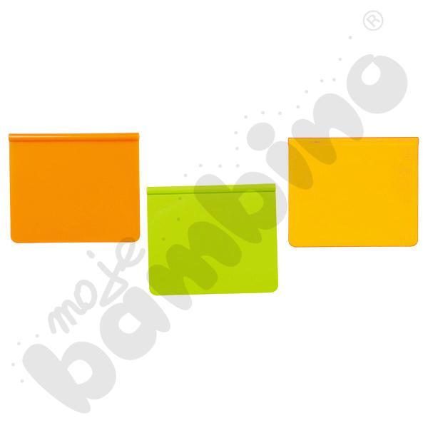 Tabliczka z podpisem - żółta