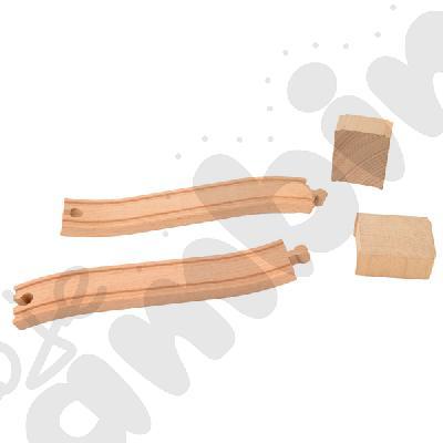 Drewniane tory - uzupełnienie 8
