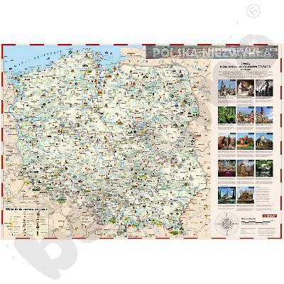 Polska niezwykła - mapa dla...