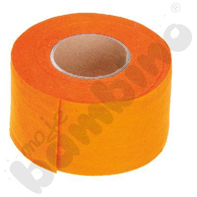Taśma filcowa - pomarańczowa