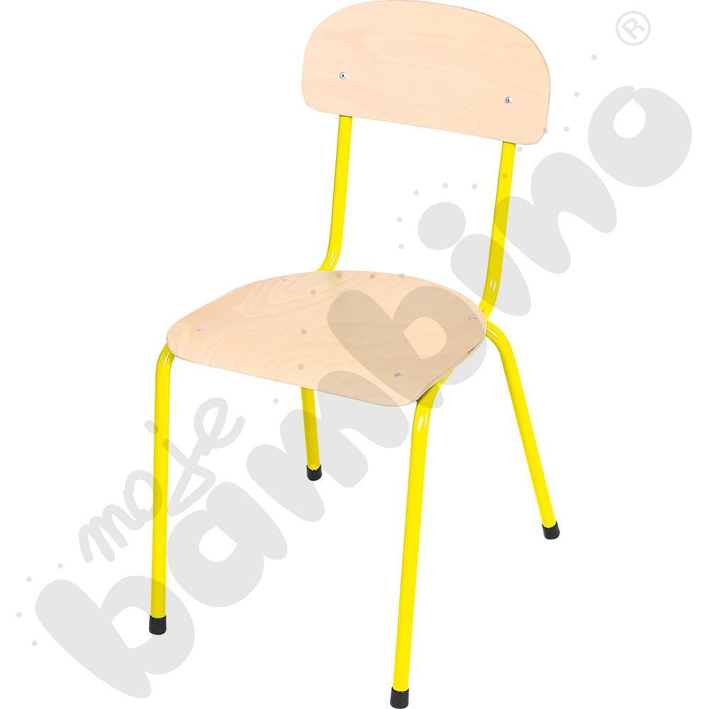 Krzesło Bambino rozm. 5 żółte
