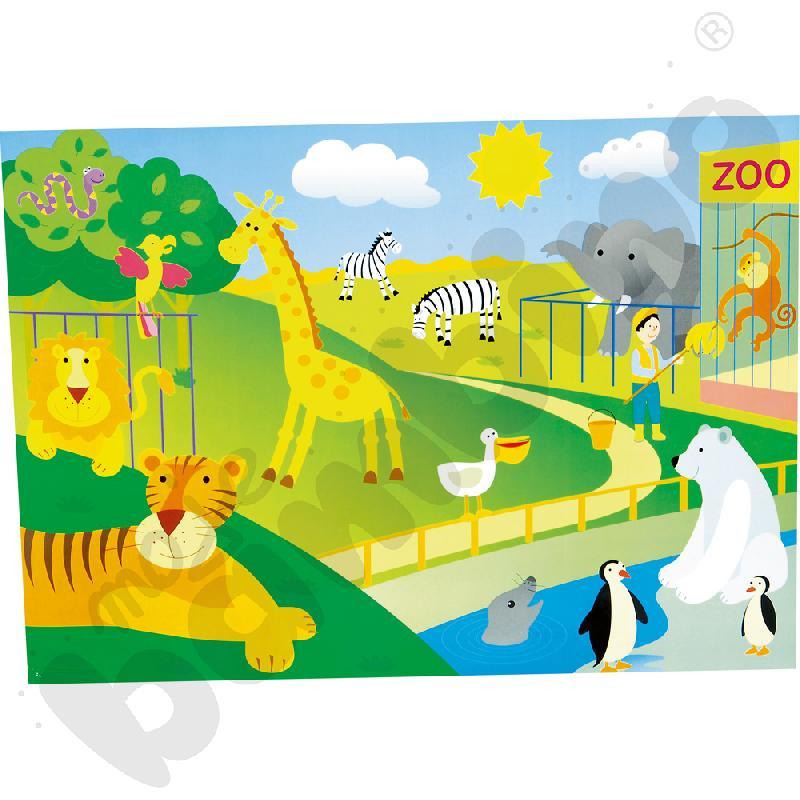 Tablice tematyczne Zoo