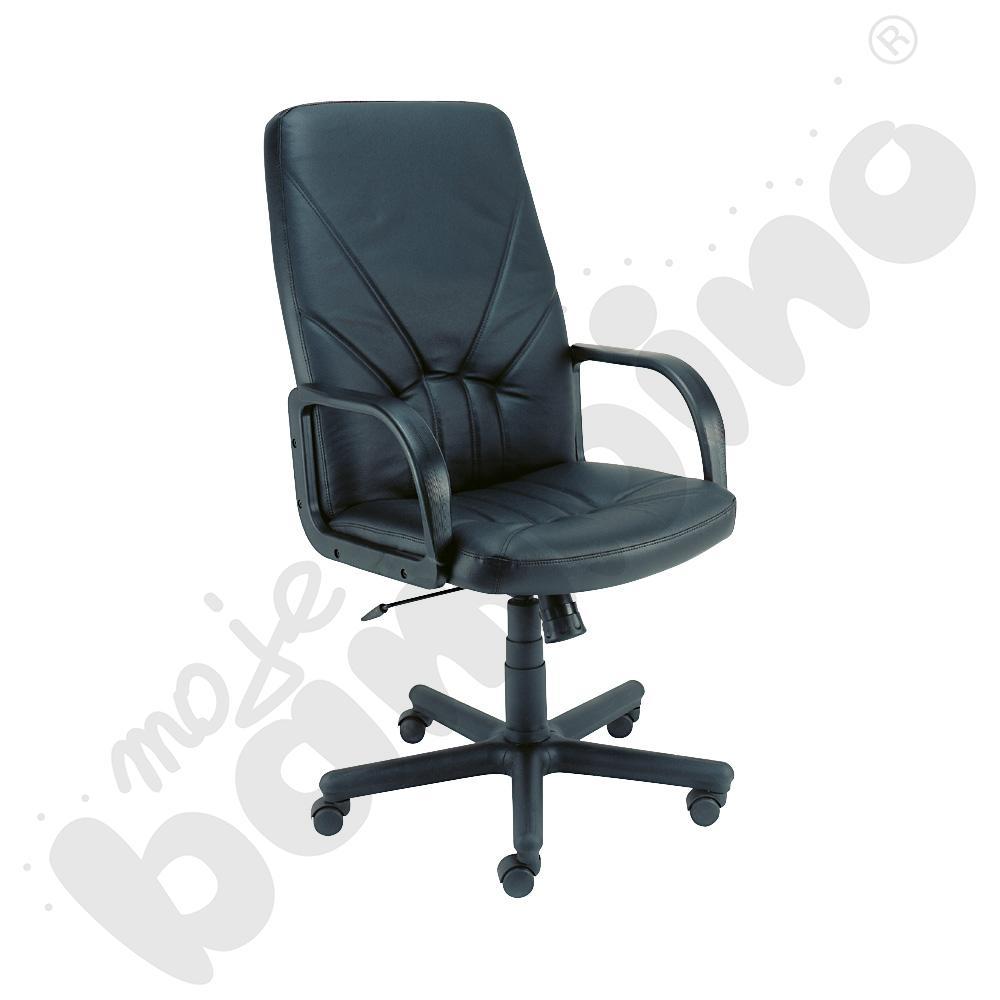 Fotel obrotowy MANAGER czarny