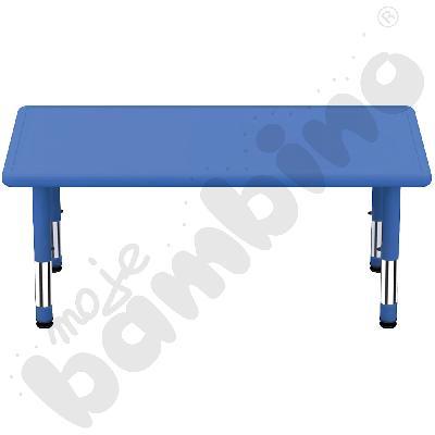 Stół Dumi prostokątny - niebieski