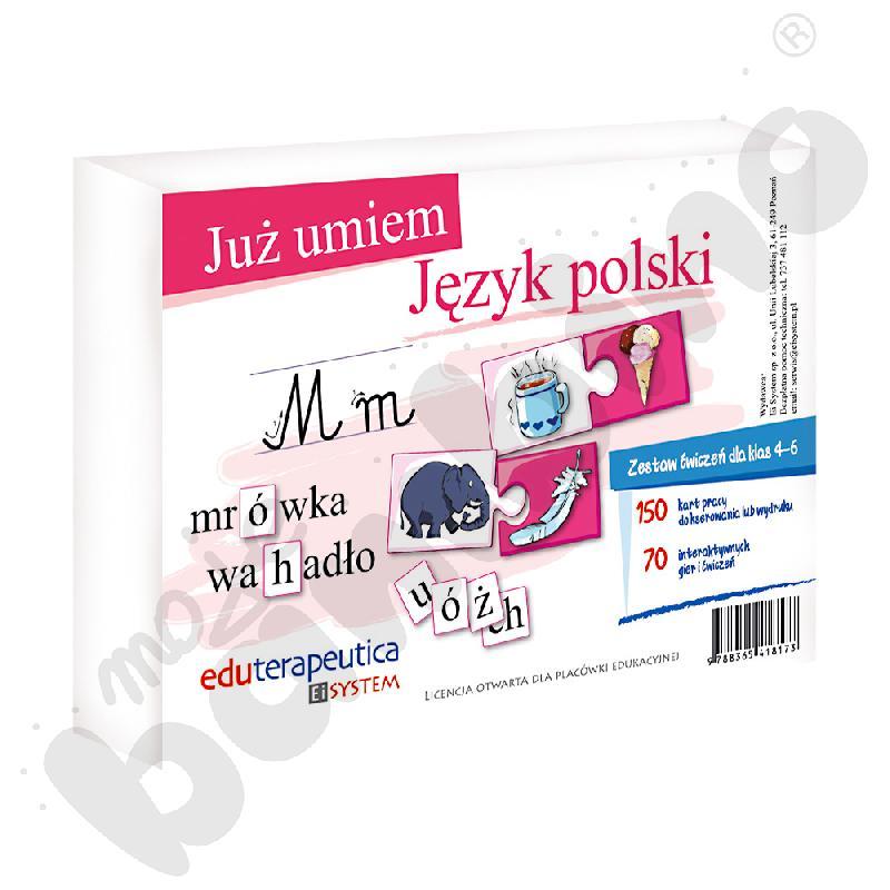 Już umiem. Język polski SP 4-6