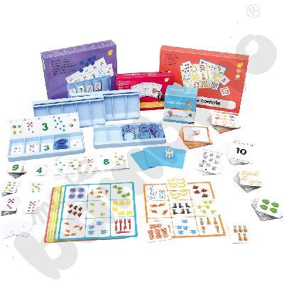 Zabawy matematyczne dla 4-latka - zestaw