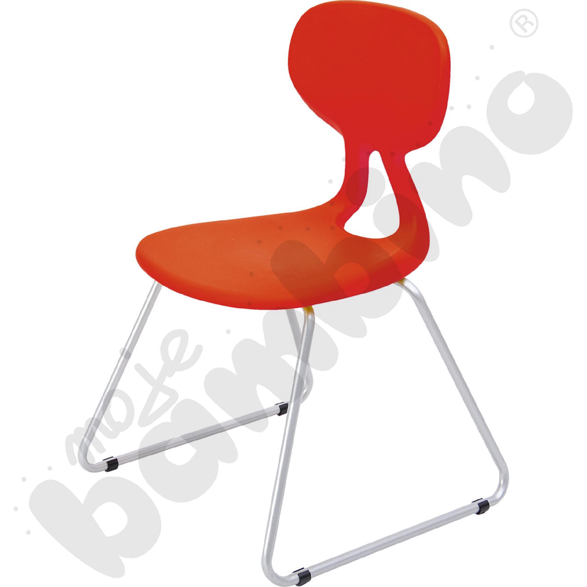 Krzesło Colores Plus rozm. 6 czerwone