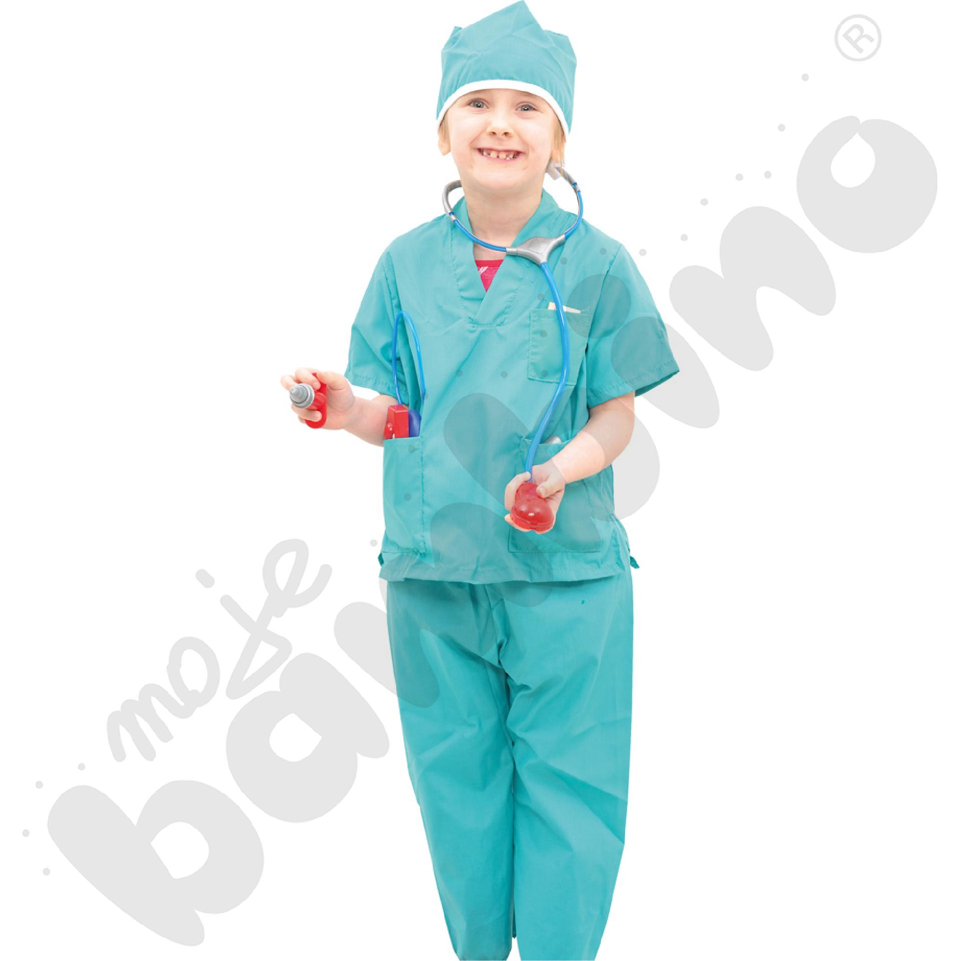 Chirurg - kostium z akcesoriami