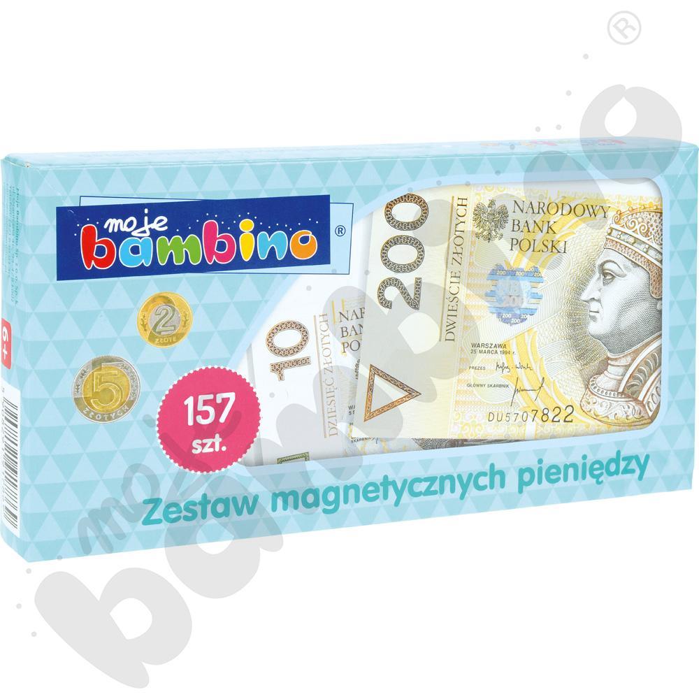 Magnetyczne pieniądze - zestaw ucznia