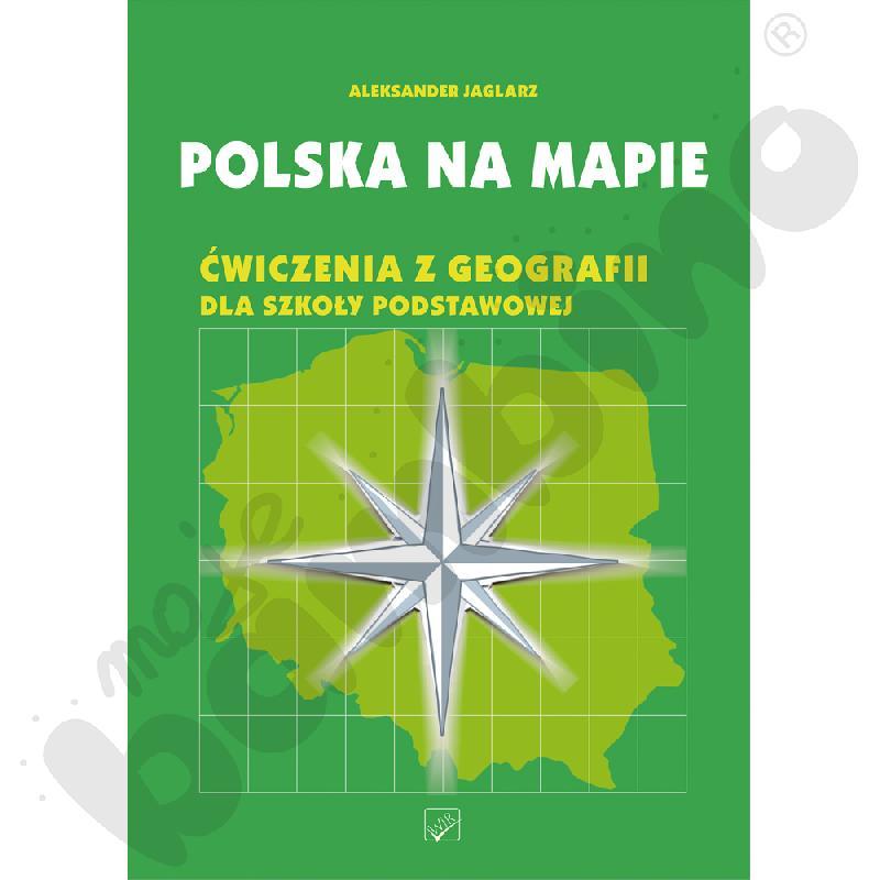 Polska na mapie - ćwiczenia z geografii dla szkoły podstawowej