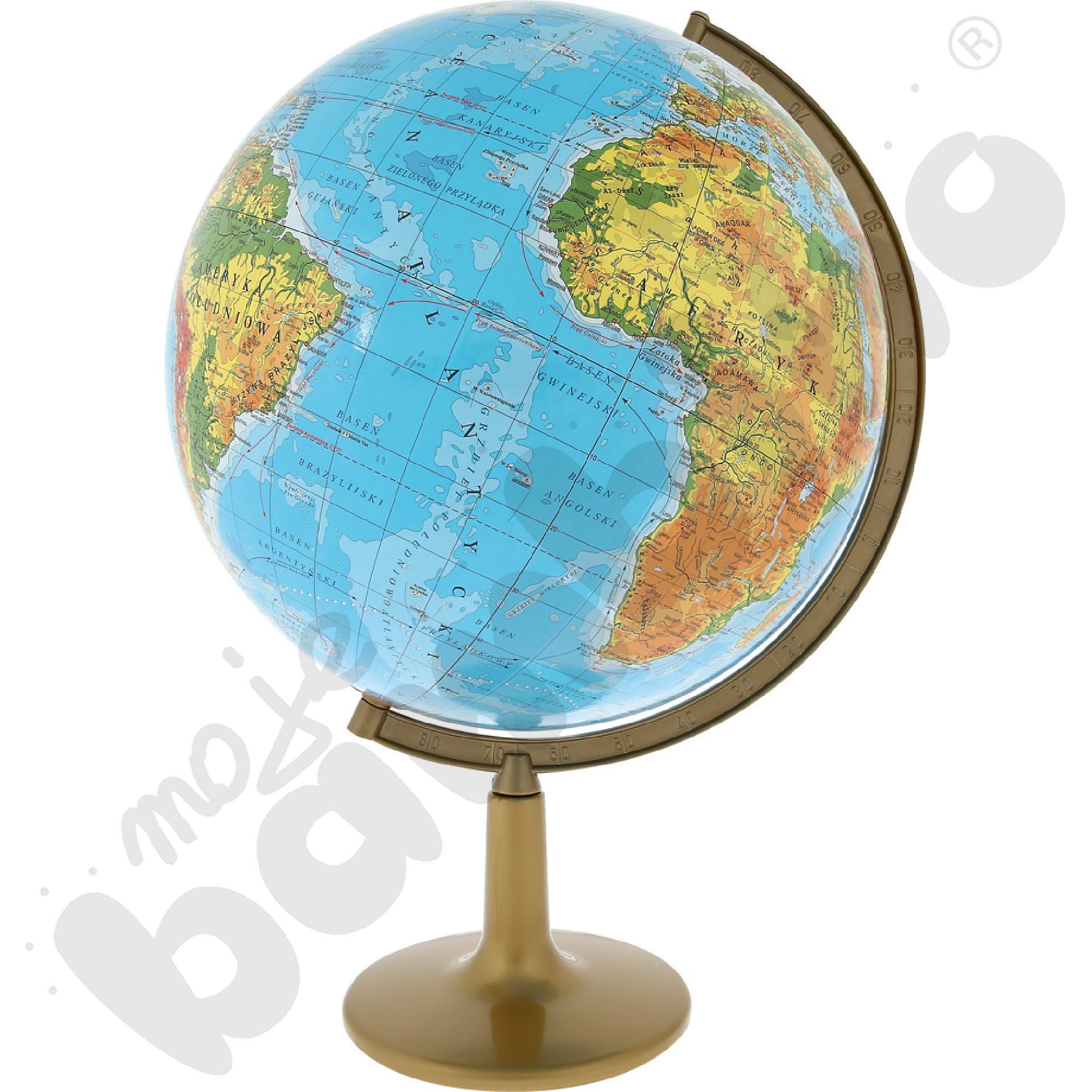 Globus fizyczny duży
