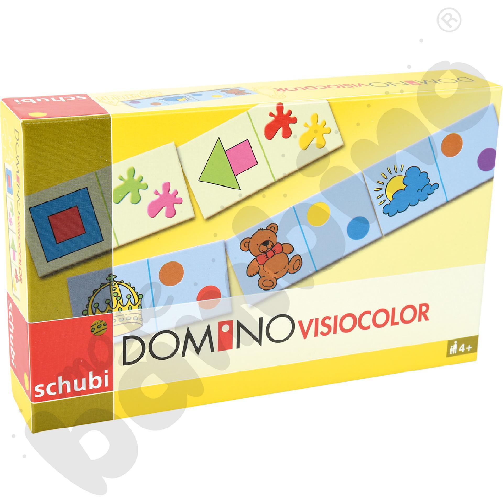 Domino - dopasuj kolory