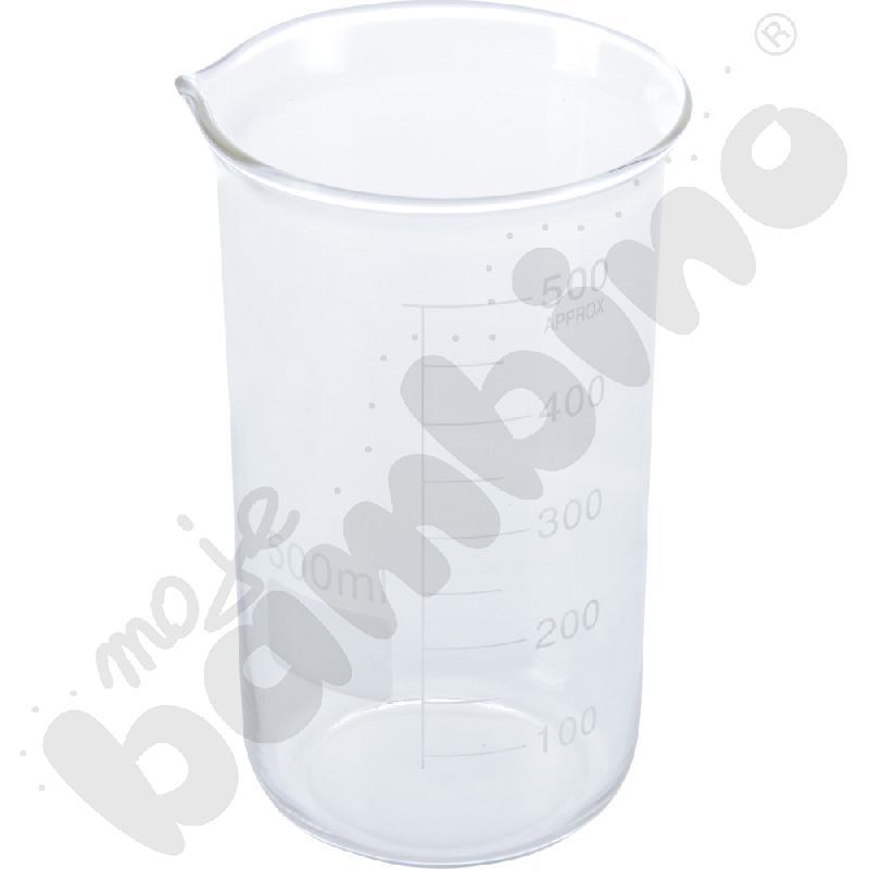 Zlewka wysoka szklana 500 ml, 10 szt.