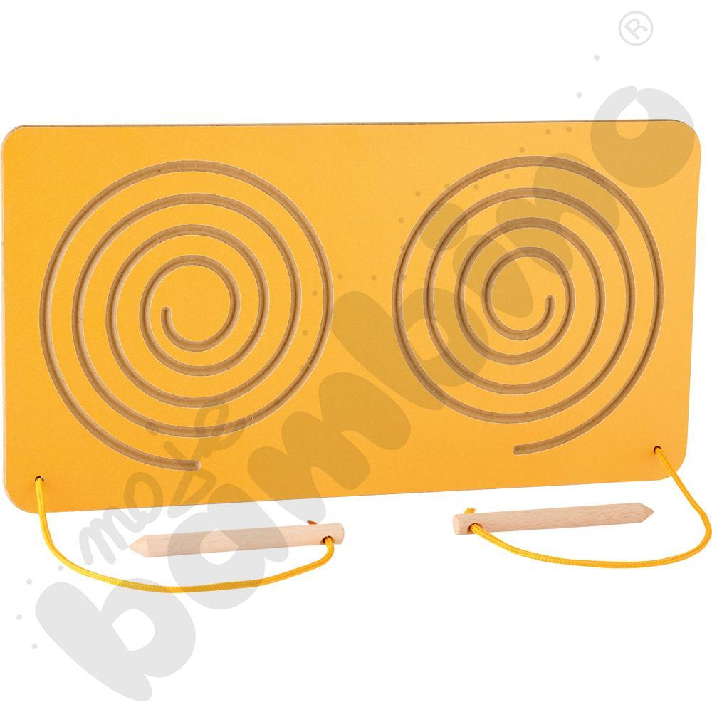 Tabliczka do ćwiczeń oburącz Ślimaki