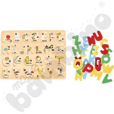 Puzzle ABC - wielkie litery