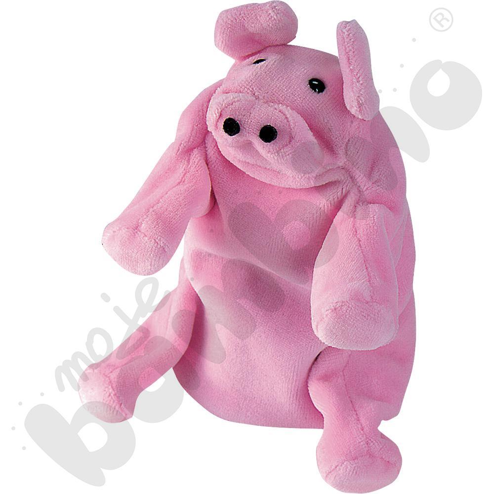 Rękawica pacynka - świnka