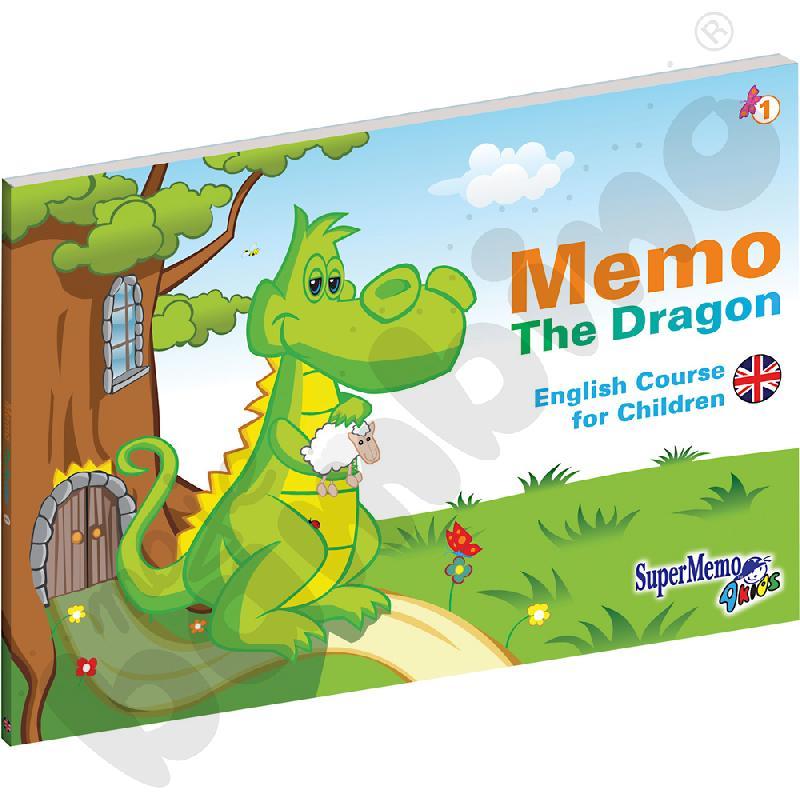 Kurs j. angielskiego dla przedszkolaka Memo The Dragon- pakiet dla ucznia cz. 1