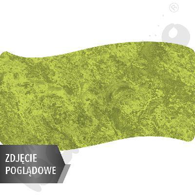 Cichy stół Plus falisty duży, 140 x 72 cm, zaokrąglone narożniki, rozm. 5 - zielony