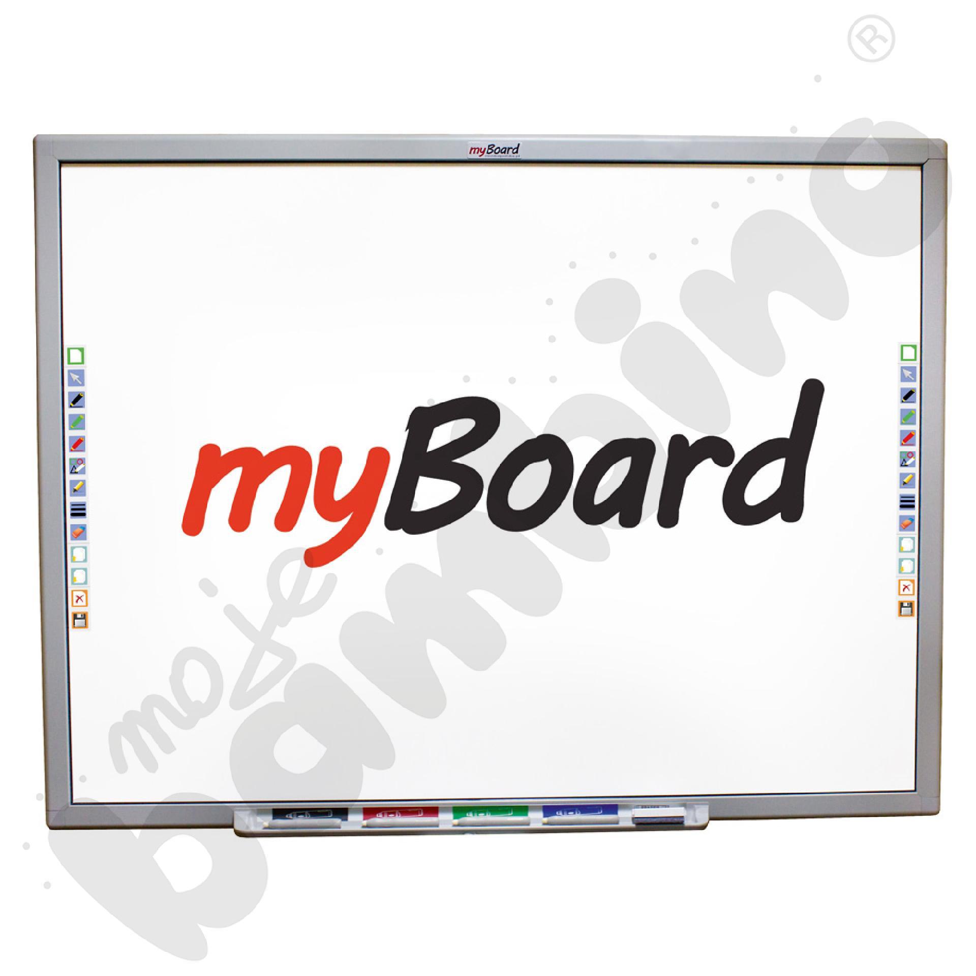 Tablica interaktywna wielodotykowa ceramiczna MyBoard 84