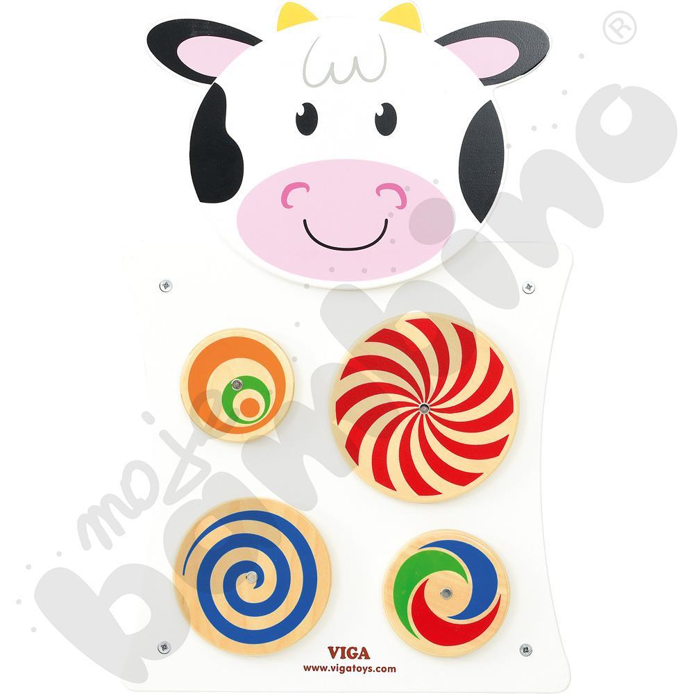 Tabliczka ścienna - krowa