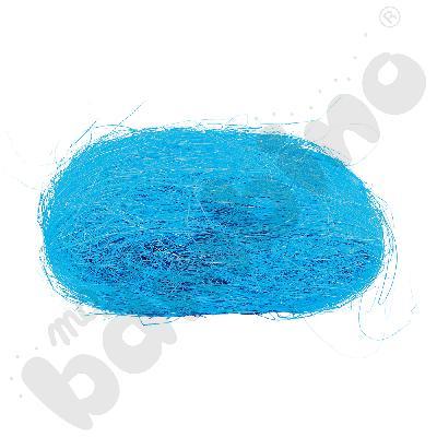 Sizal w motku niebieski
