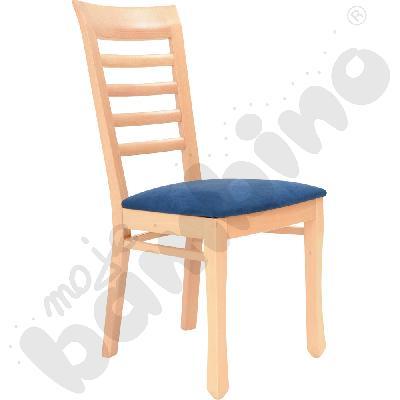 Krzesło Madrid - granatowe