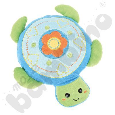 Poduszka FLAT żółwik