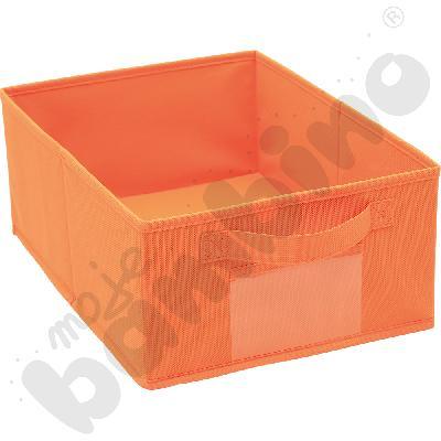 Pojemnik z tkaniny - pomarańczowy