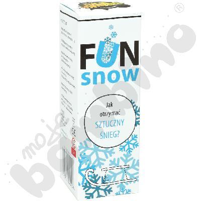Fun snow - mini eksperyment ze sztucznym śniegiem