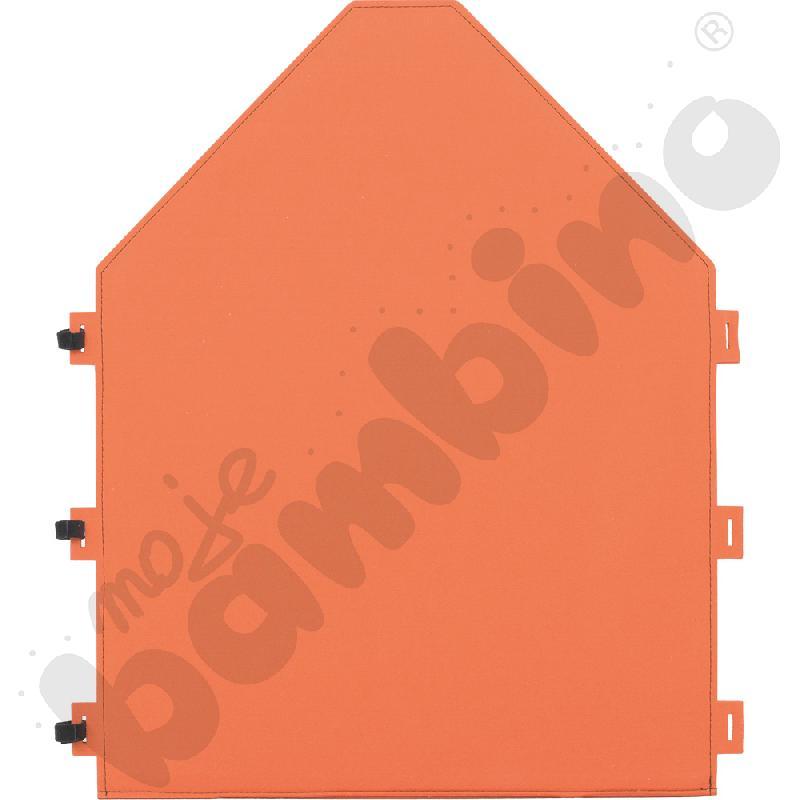Panel filcowy - domek pomarańczowy