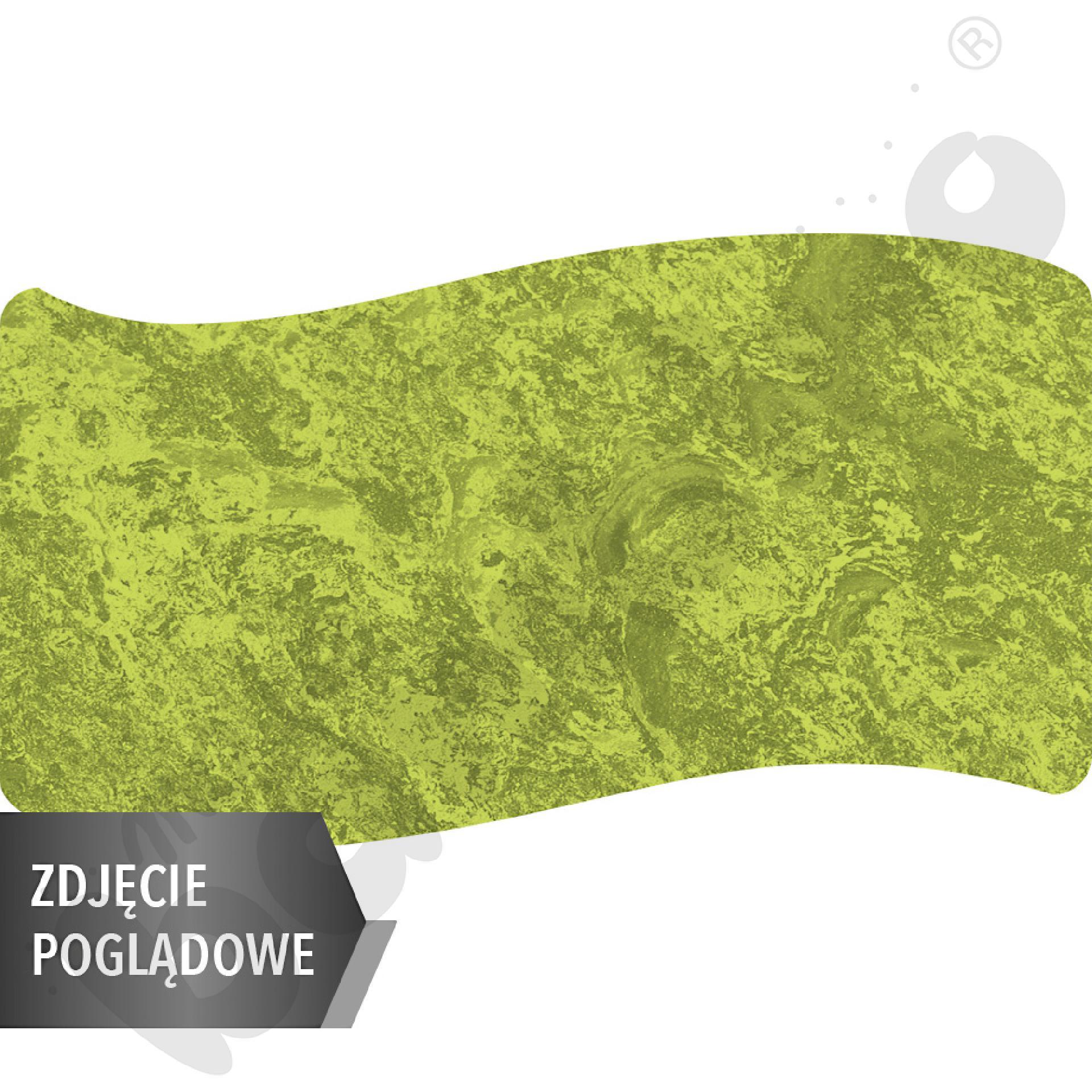 Cichy stół falisty duży, 140 x 72 cm, zaokrąglone narożniki, rozm. 5 - zielony