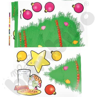 Dekoracje bożonarodzeniowe - choinka