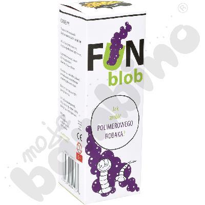 Fun blob - mini eksperyment z robakiem