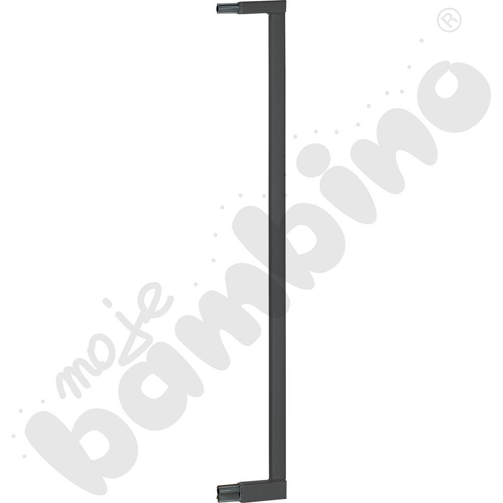 Przedłużka do bramki, szer. 8 cm, srebrna
