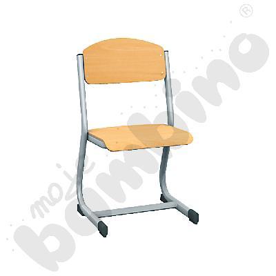 Krzesło IN-C rozm. 4 srebrne