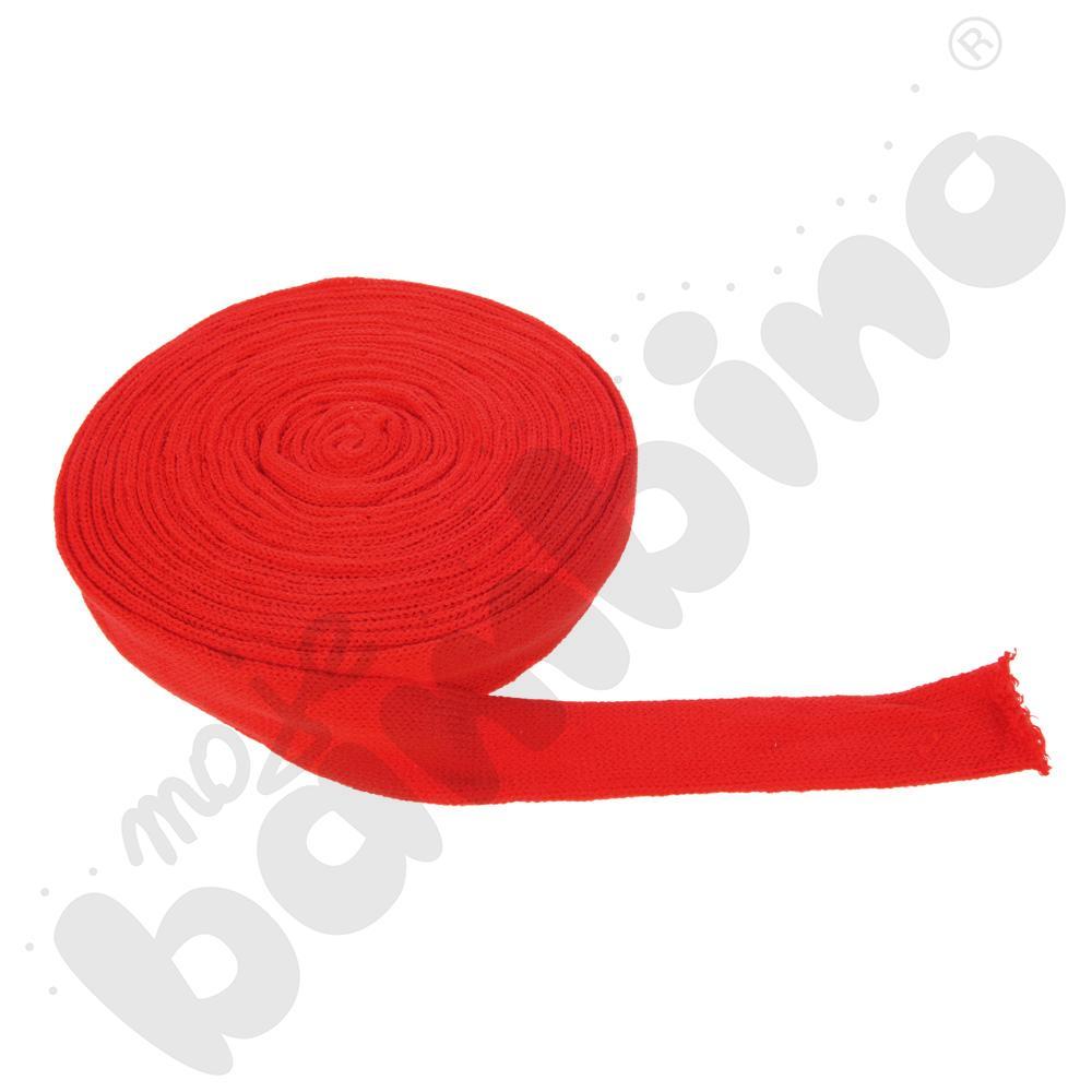 Tuba z włóczki do prac plastycznych - czerwona