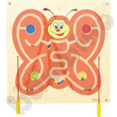 Tabliczka ścienna - motyl
