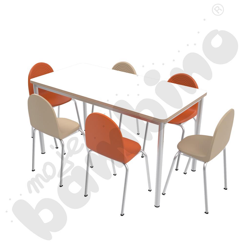 Stół Mila 140 x 70 biały...