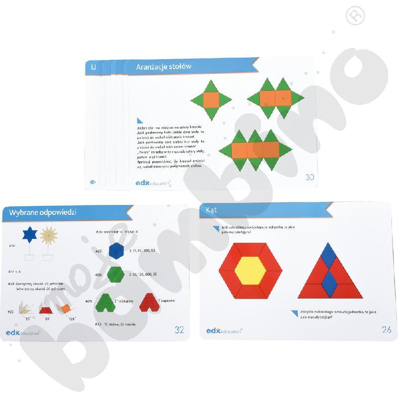 Karty aktywności - geometryczne kształty