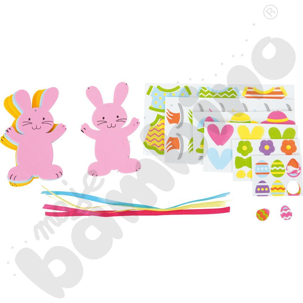 Piankowe króliczki do dekorowania