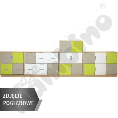 Quadro - zestaw 2, 90 st., biała skrzynia