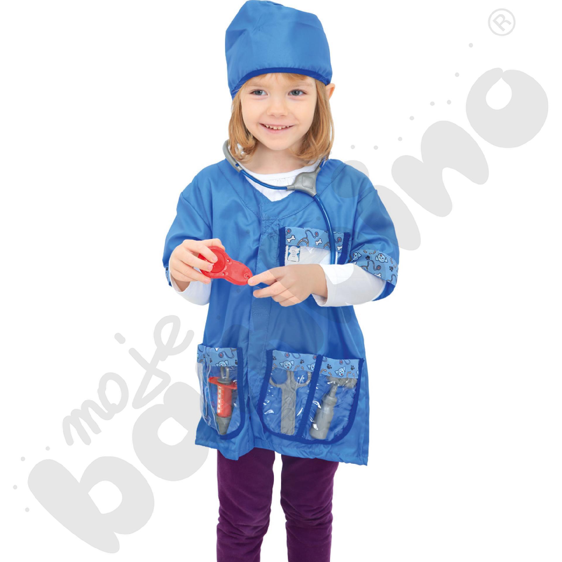 Weterynarz - kostium z akcesoriami