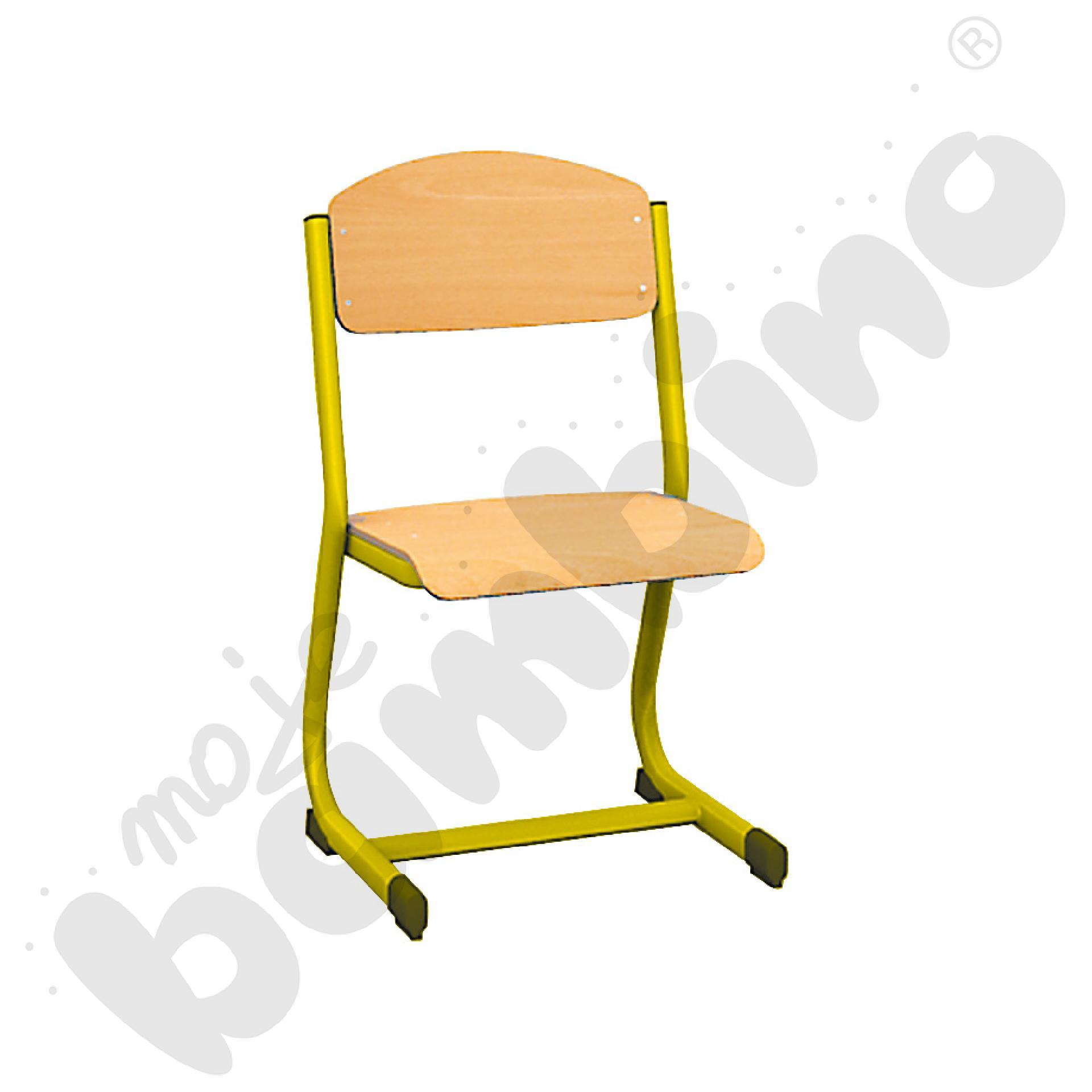 Krzesło IN-C rozm. 6 żółte