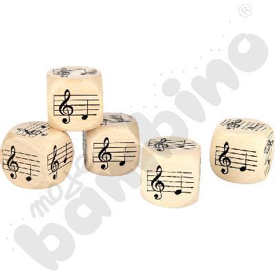 Muzyczne kostki nuty