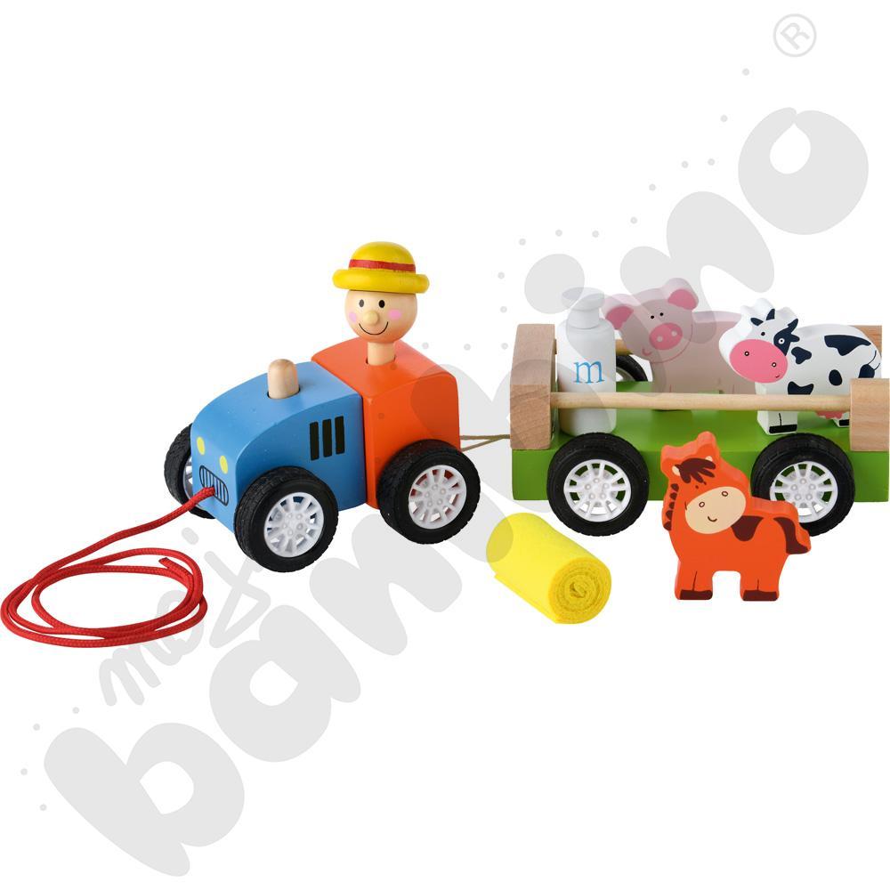 Auto farmera do prowadzenia