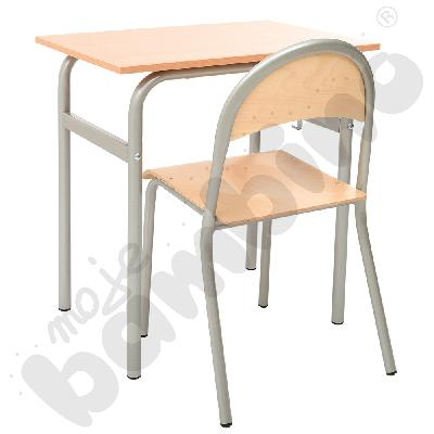 Stół Daniel 1-os. Rozm. 6 + krzesło P rozm. 6